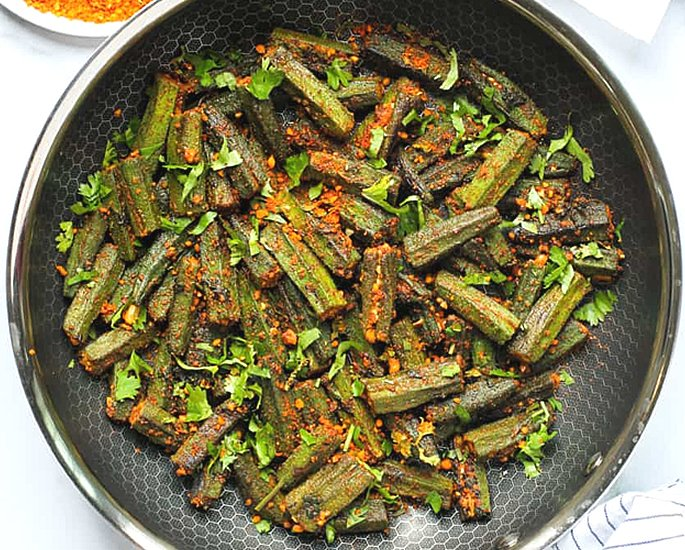 7 Indian Okra Recipes to Make at Home - stuffed