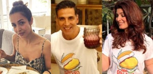 Akshay, Twinkle & Malaika join What's In Your Dabba Challenge f