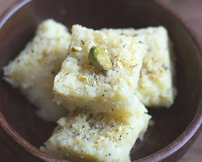 Delicious Types of Barfi to Make at Home - coconut