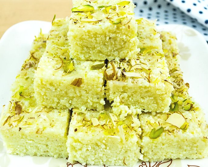 Delicious Types of Barfi to Make at Home - malai