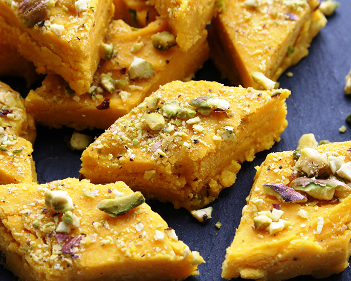 Delicious Types of Barfi to Make at Home - mango