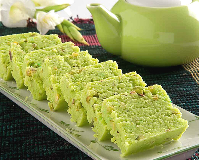 Delicious Types of Barfi to Make at Home - pistachio