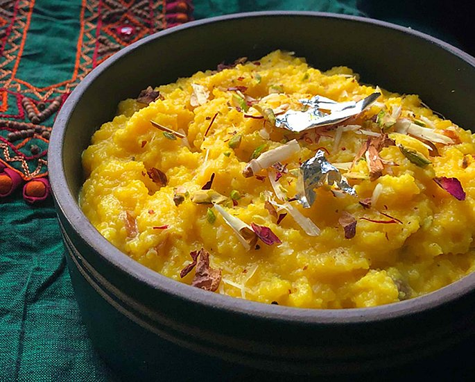 Different Types of Halwa to Make at Home - moong