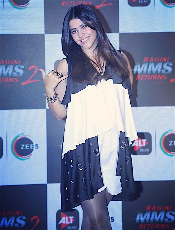 Ekta Kapoor hails as the 'Czarina' of Indian Television - ekta