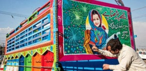 Empowering Female Rights Through Pakistan Truck Art - F