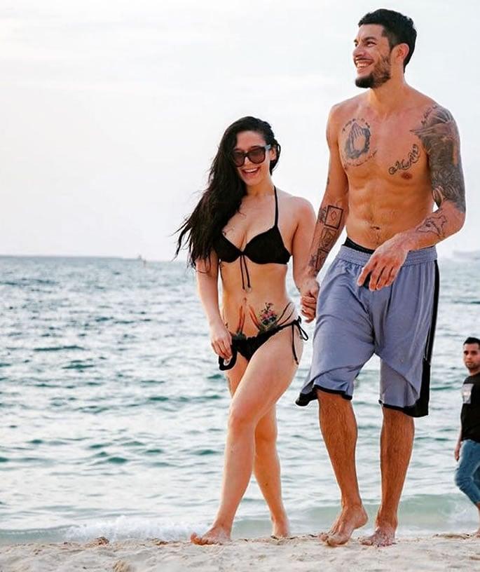 Has Krishna Shroff found True Love with Eban Hyams- beach