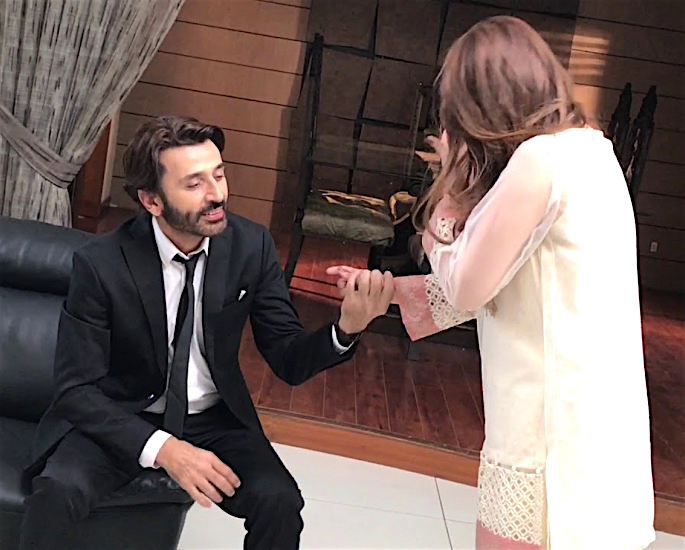 Hina says Intimate Scenes with Faisal Rehman are Challenging - arm