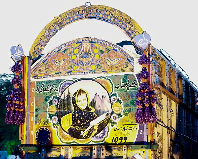 Empowering Female Rights Through Pakistan Truck Art - IA 4
