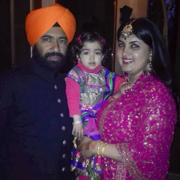 भारतीय गोल्फर इरिना बराड़ ने पति पर घरेलू हिंसा का आरोप लगाया - परिवार