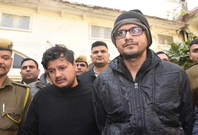 Indian Husband ordered Contract Killing of Wife & Son - killers