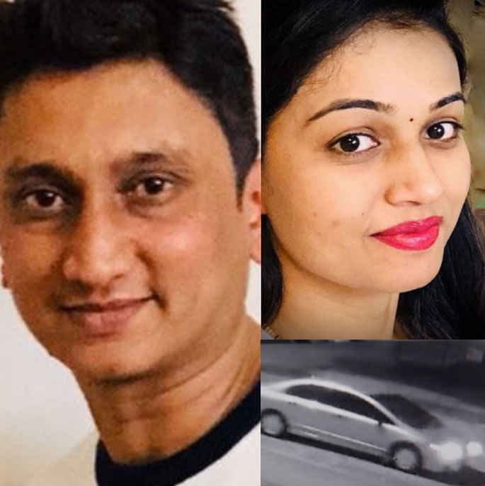 Indian Man wanted for Murder of Ex-Wife in Canada - car
