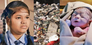 Indian Teenager discovers Newborn Girl thrown in Garbage f