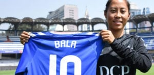India's Bala Devi creates History signing for Rangers FC f
