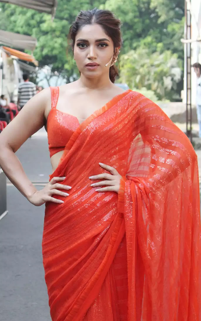 Is Orange a Fashion Favourite of Bollywood Actresses - Bhumi