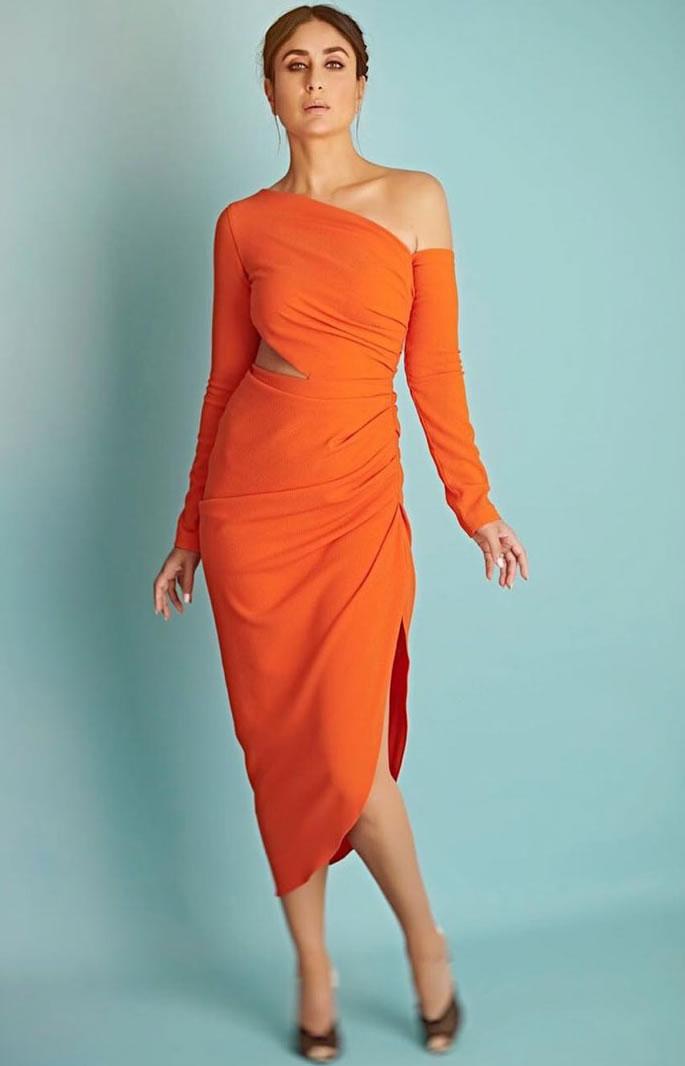 ऑरेंज बॉलीवुड अभिनेत्रियों का एक फैशन पसंदीदा है - करीना
