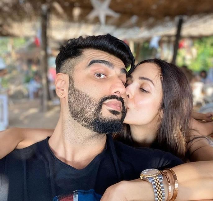 Malaika Arora trolled for kissing Arjun on Instagram - couple