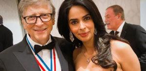 Mallika Sherawat meets Microsoft Founder Bill Gates f