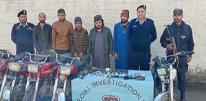 Notorious Pakistani Gang-for-Hire arrested in Rawalpindi f