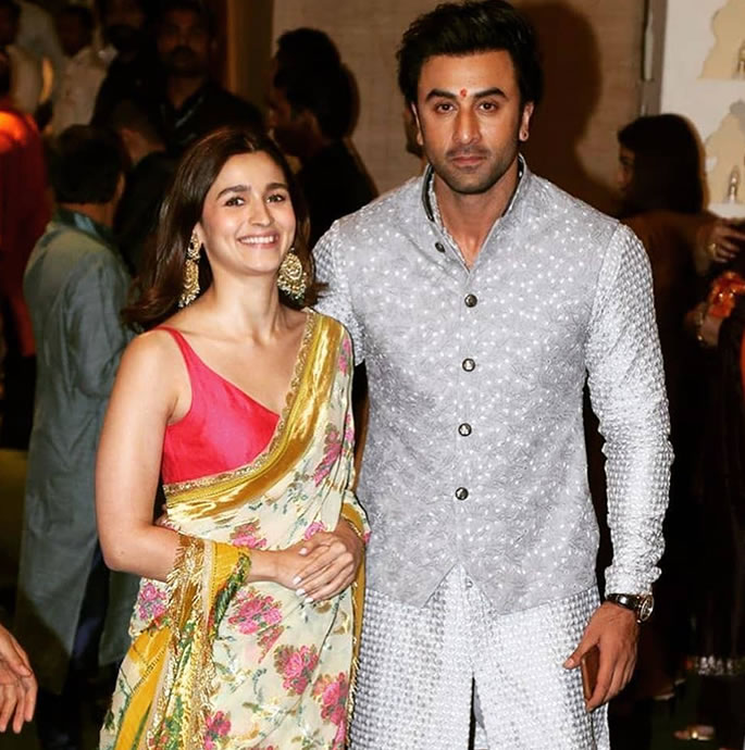 Ranbir and Alia Wedding Preparations have Started - Couple