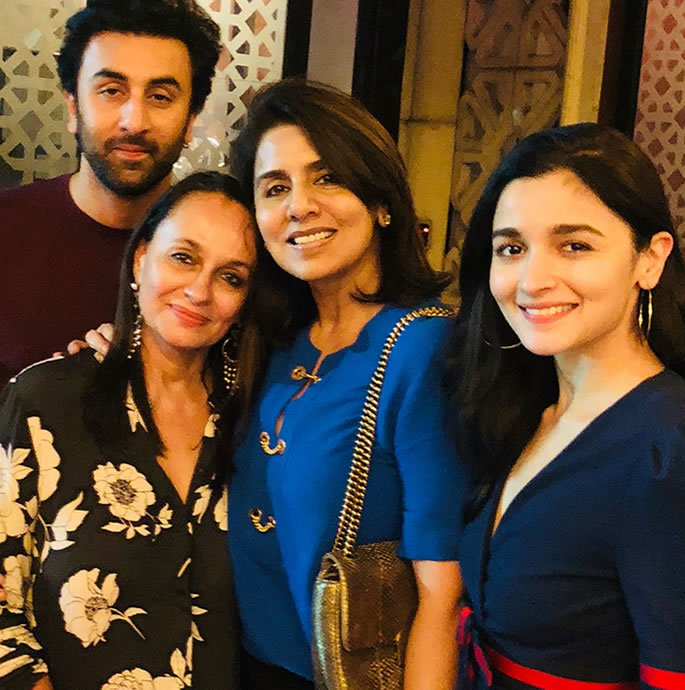 Ranbir and Alia Wedding Preparations have Started - Family
