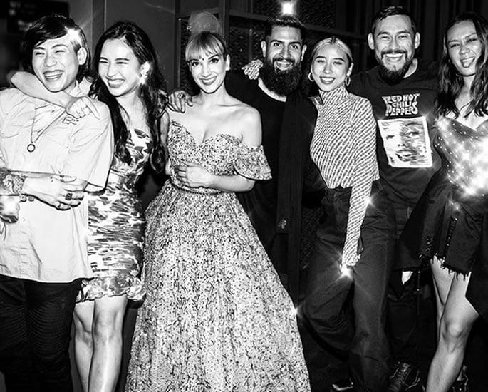 Singapore Social reveals the 'Real' Sukki Singapora - cast bw