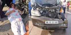 Veteran Actress Shabana Azmi met with horrific Car Accident
