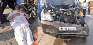 Veteran Actress Shabana Azmi met with terrible Car Accident f