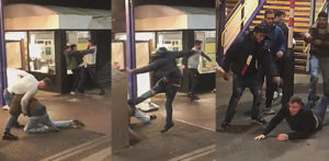 Violent 'Racial' Fight erupts on Train Platform in St Albans f