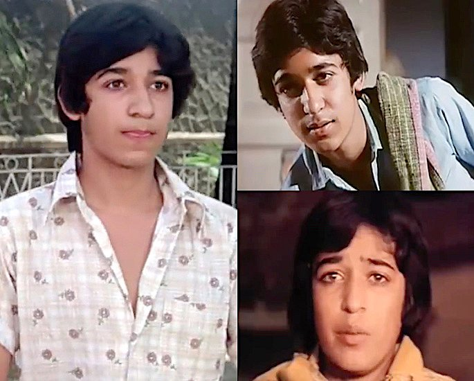 Which Child Stars Played a Young Amitabh Bachchan? - Master Mayur