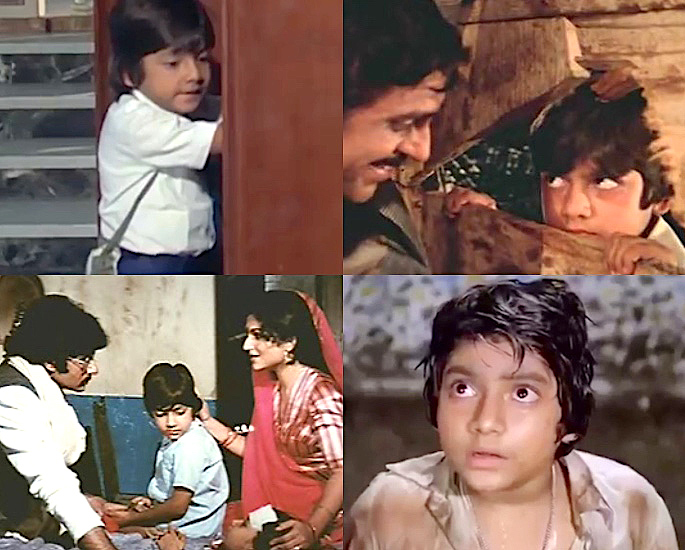 Which Child Stars Played a Young Amitabh Bachchan? - Master Ravi