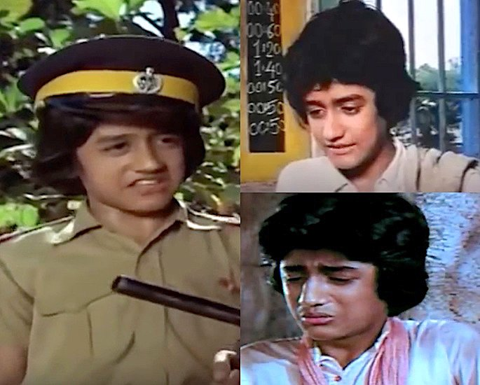 Which Child Stars Played a Young Amitabh Bachchan? - Master Tito
