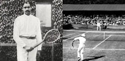 Who was the First Indian Tennis Player?