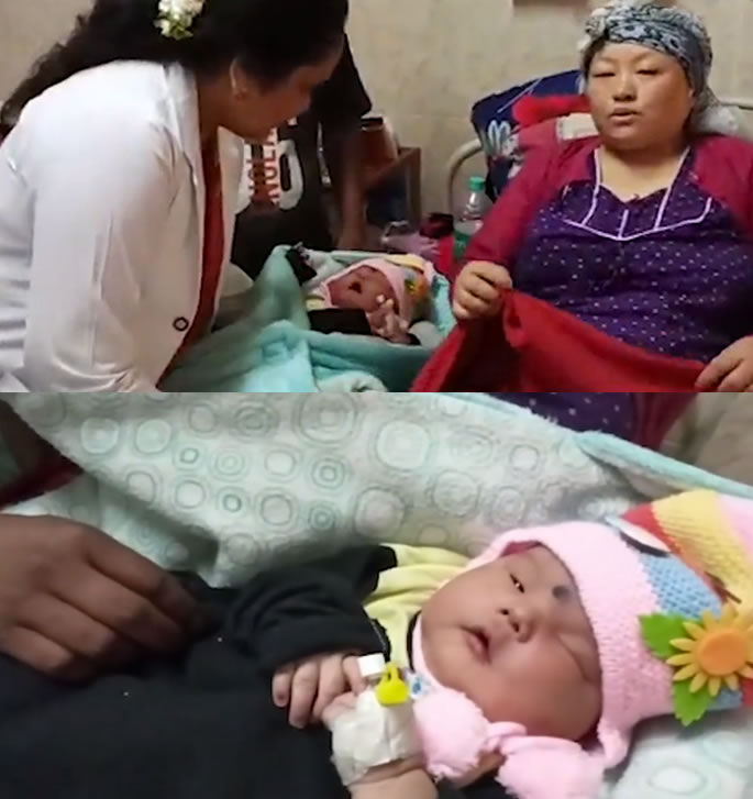 Whopping 5.9kg Baby Born to Indian Couple - doctor