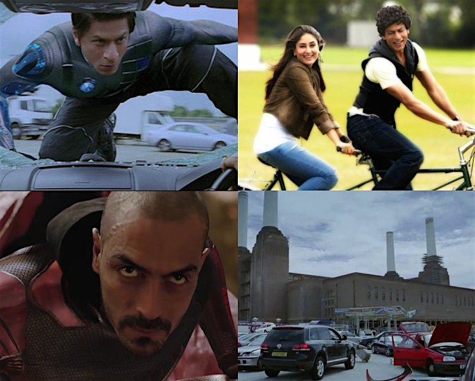 20 Bollywood Films shot in London - Ra.One