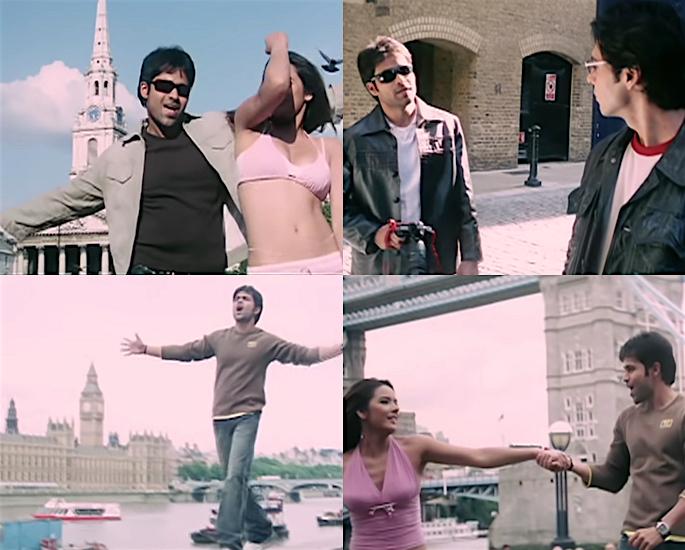 20 बॉलीवुड फ़िल्मों की शूटिंग लंदन में हुई - अक्सर