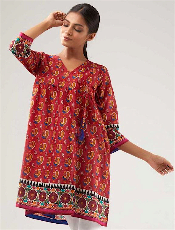 20 Stylish Kurtis to Wear with Jeans - 1-2