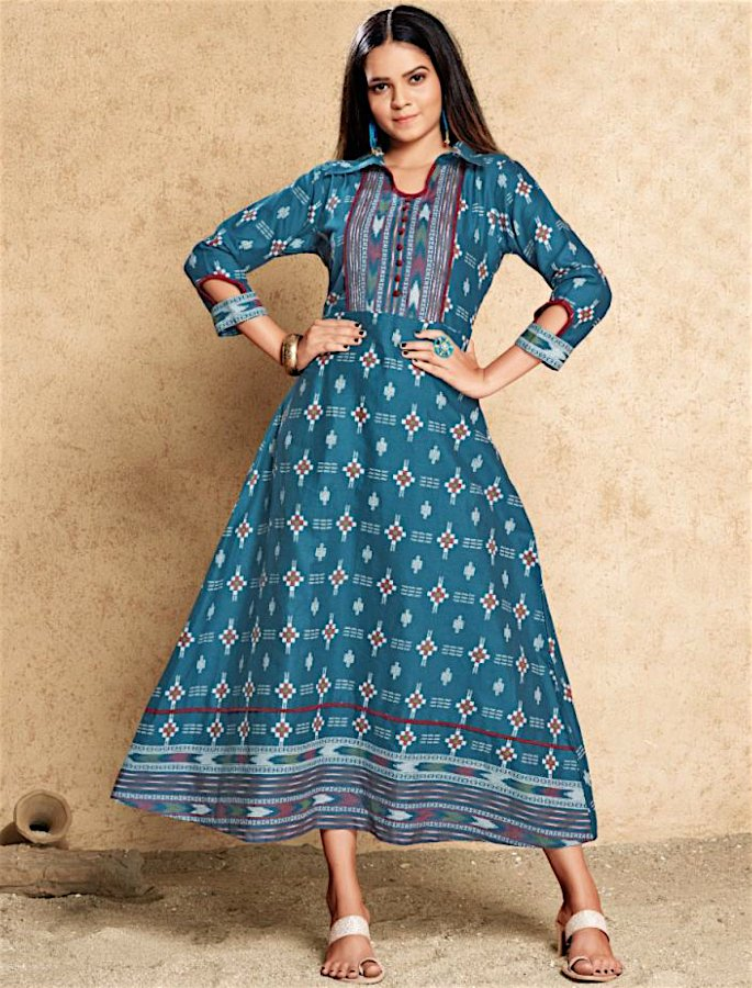 20 Stylish Kurtis to Wear with Jeans - 3