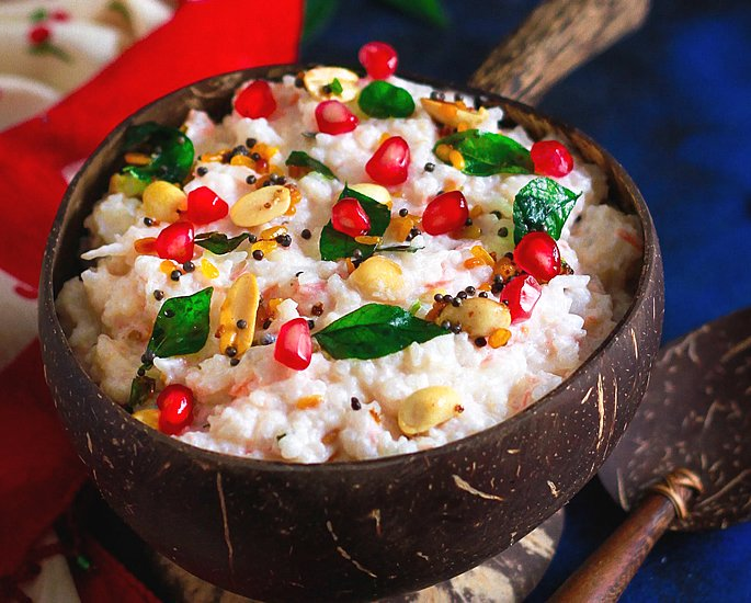 20 Very Popular Indian Rice Dishes - curd