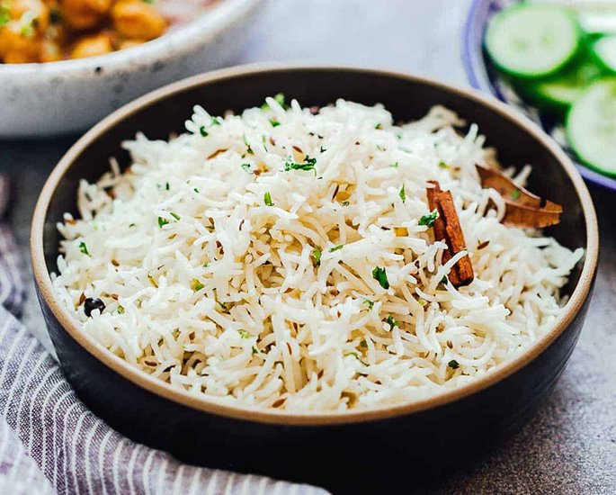 20 Very Popular Indian Rice Dishes - jeera