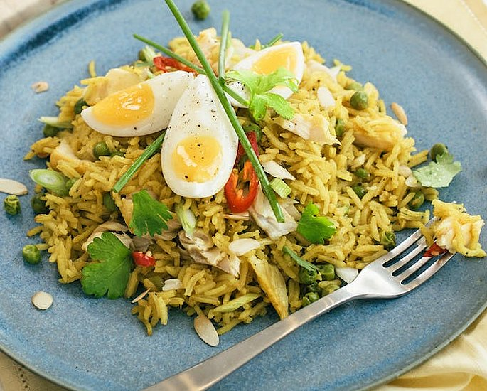 20 Very Popular Indian Rice Dishes - kedgeree
