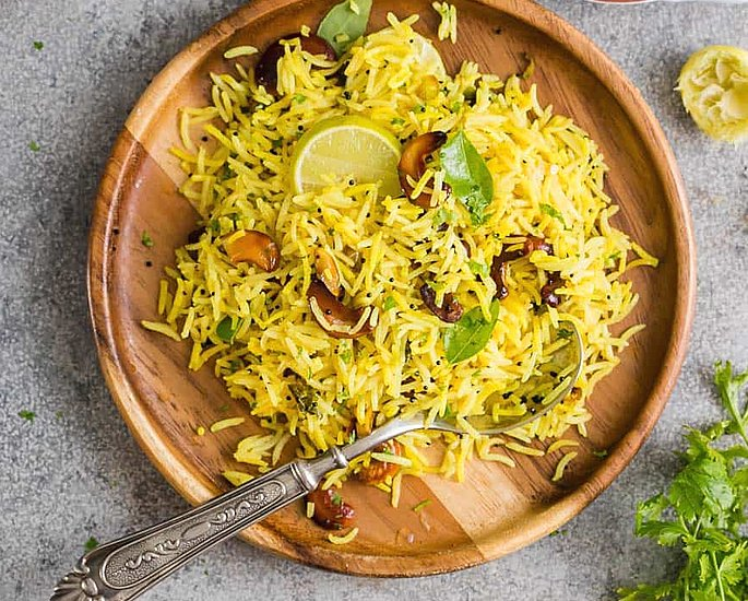 20 Very Popular Indian Rice Dishes - lemon
