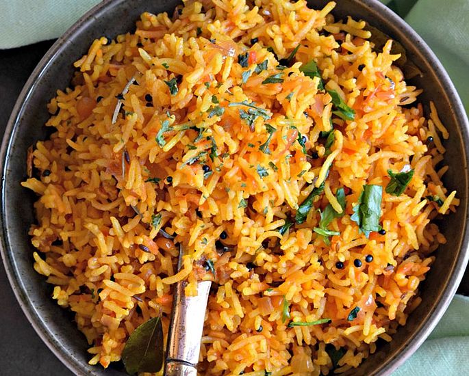 20 Very Popular Indian Rice Dishes - tomato