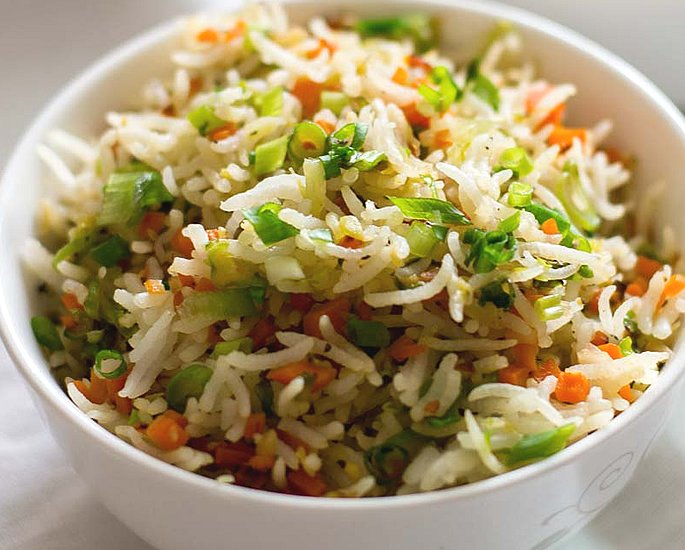 20 Very Popular Indian Rice Dishes - vege