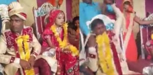 Angry Indian Groom erupts into Fight at His Wedding f