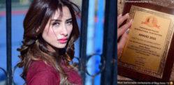 Big Boss 13's Mahira Sharma reacts to 'Fake Award' Accusation