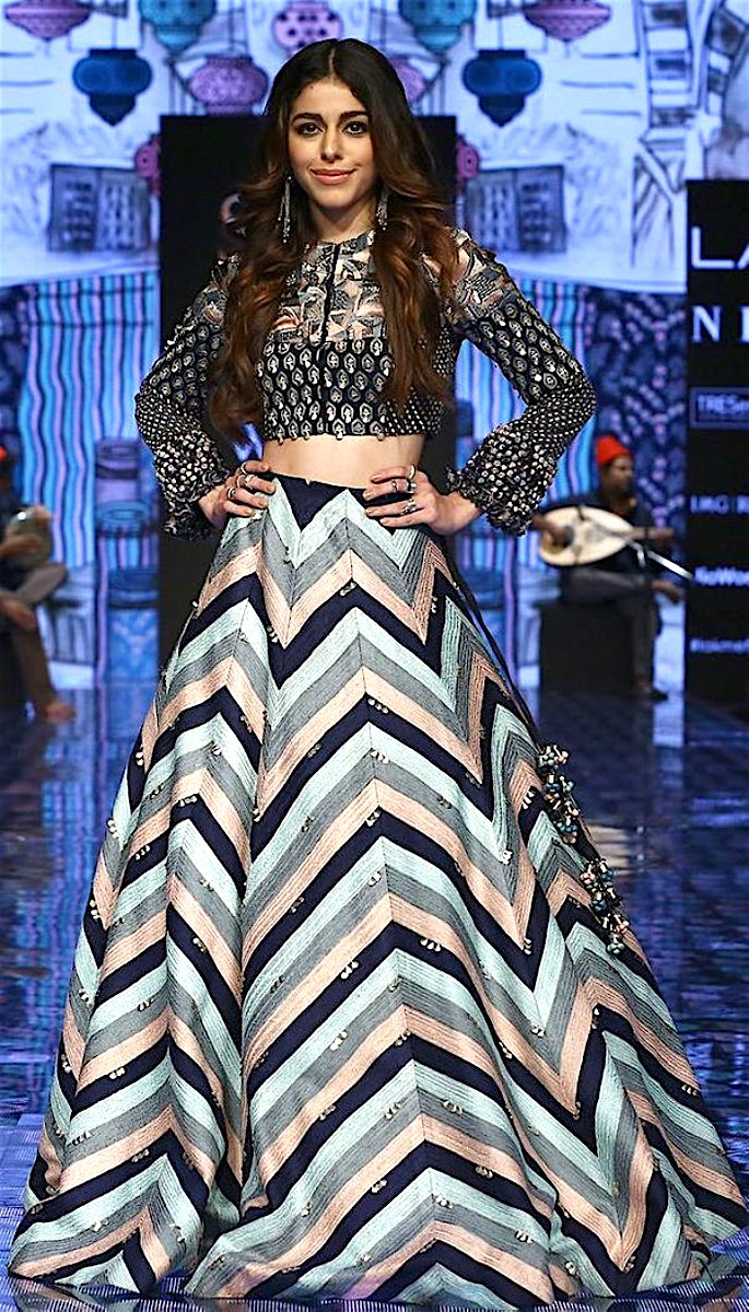 Bollywood Stars Walk the Ramp at Lakme Fashion Week 2020 - alaya f