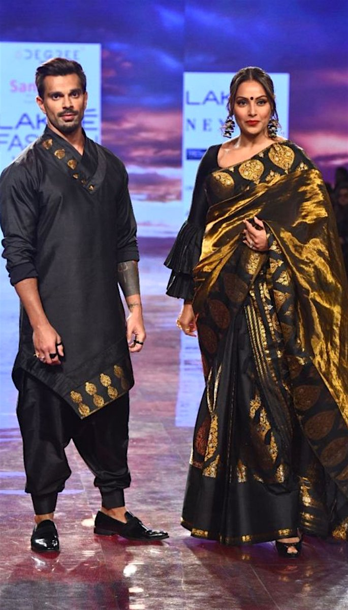 Bollywood Stars Walk the Ramp at Lakme Fashion Week 2020 - bipasha