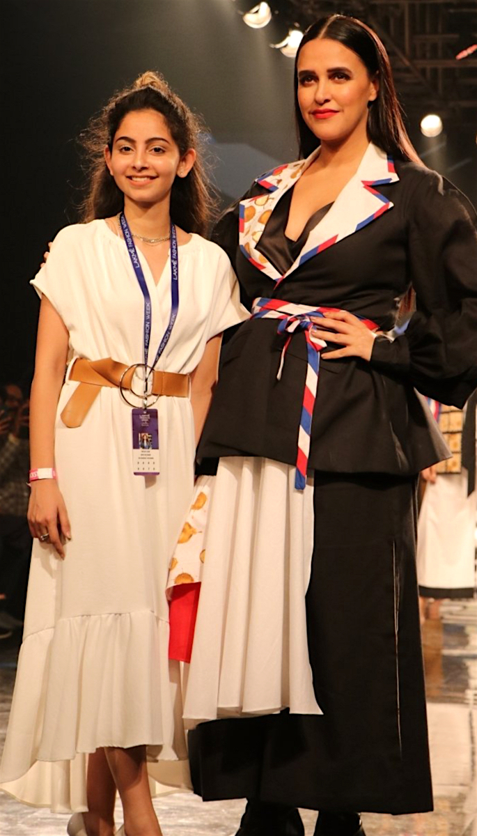 Bollywood Stars Walk the Ramp at Lakme Fashion Week 2020 - neha