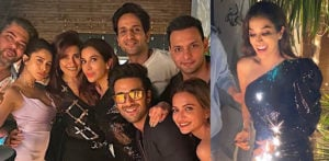 Bollywood Stars attend Sophie Choudry's Birthday Bash f