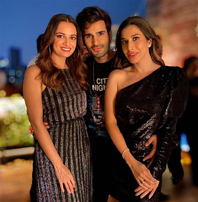 Bollywood Stars attend Sophie Choudry's Birthday Bash - karan